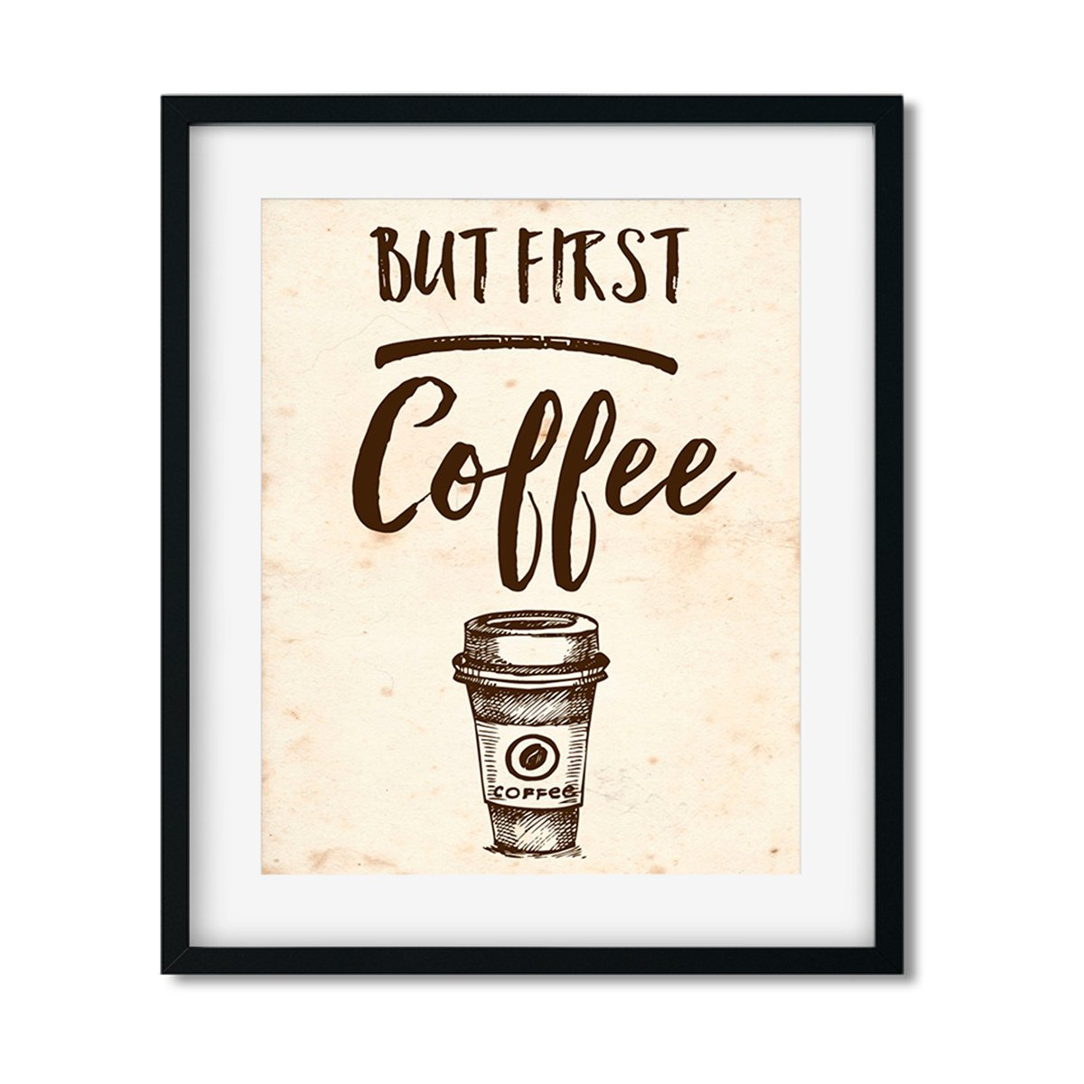 But First Coffee - Art Print - Netties Expressions