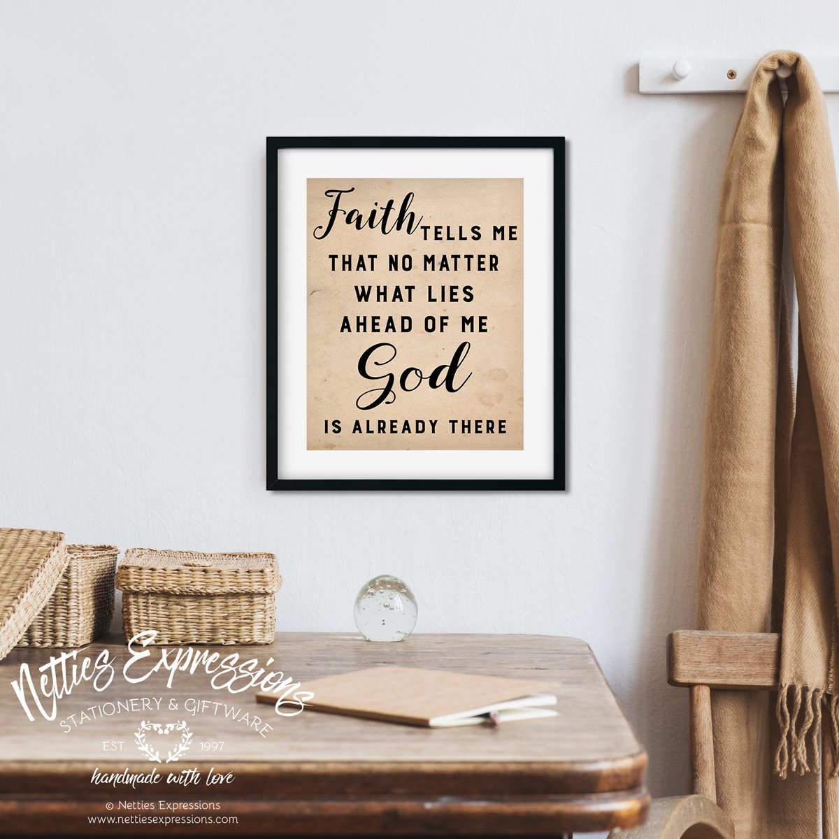 Faith tells me - Art Print - Netties Expressions