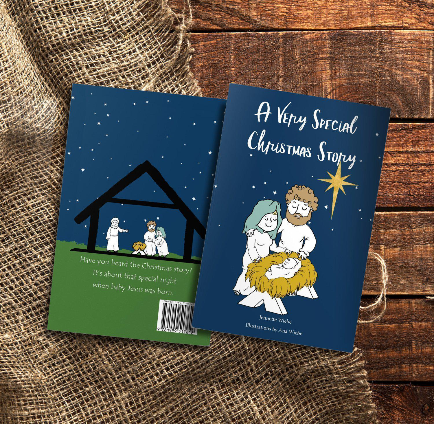 A Very Special Christmas Story - Bible Story Book - Netties Expressions