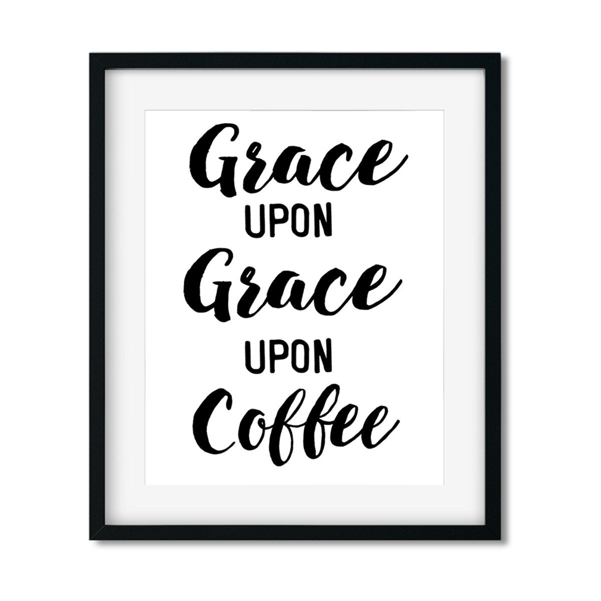 Grace upon Grace - Art Print - Netties Expressions