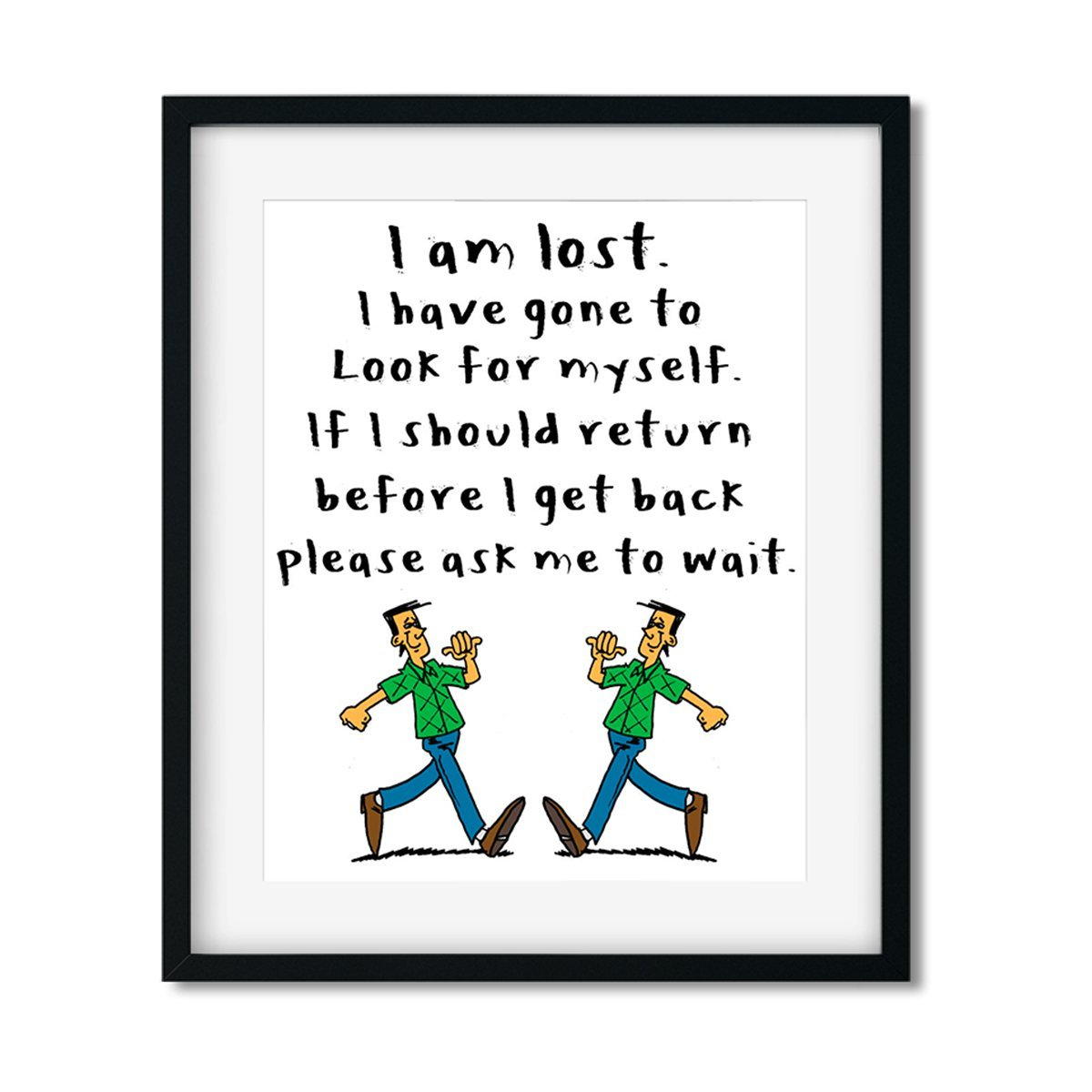 I am lost - Art Print - Netties Expressions