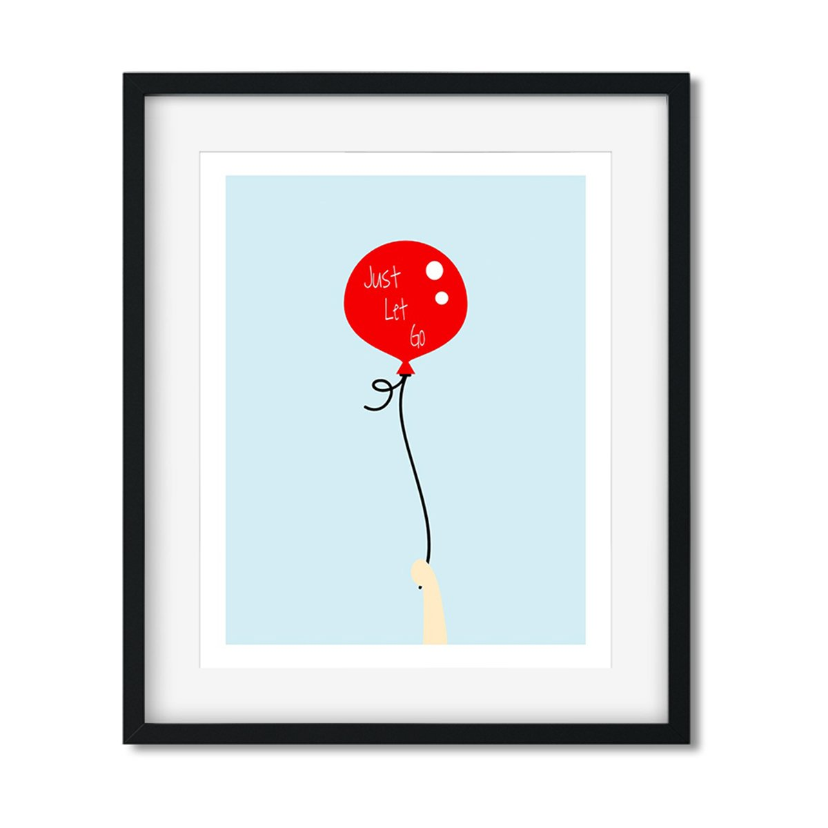 Just Let go - Art Print - Netties Expressions