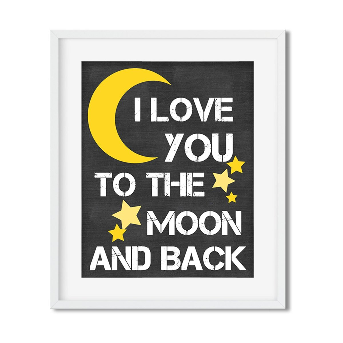 Love you to the moon and back - Art Print - Netties Expressions