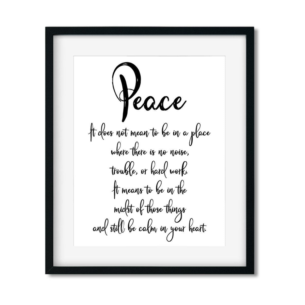 Peace - Art Print - Netties Expressions