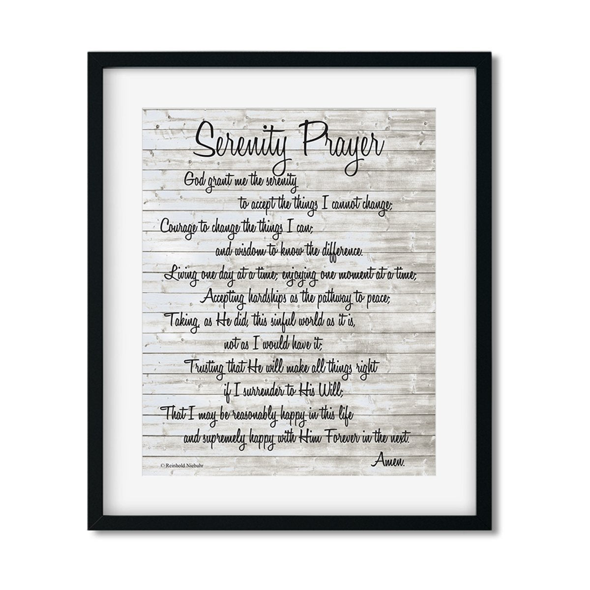 Serenity Prayer - Art Print - Netties Expressions
