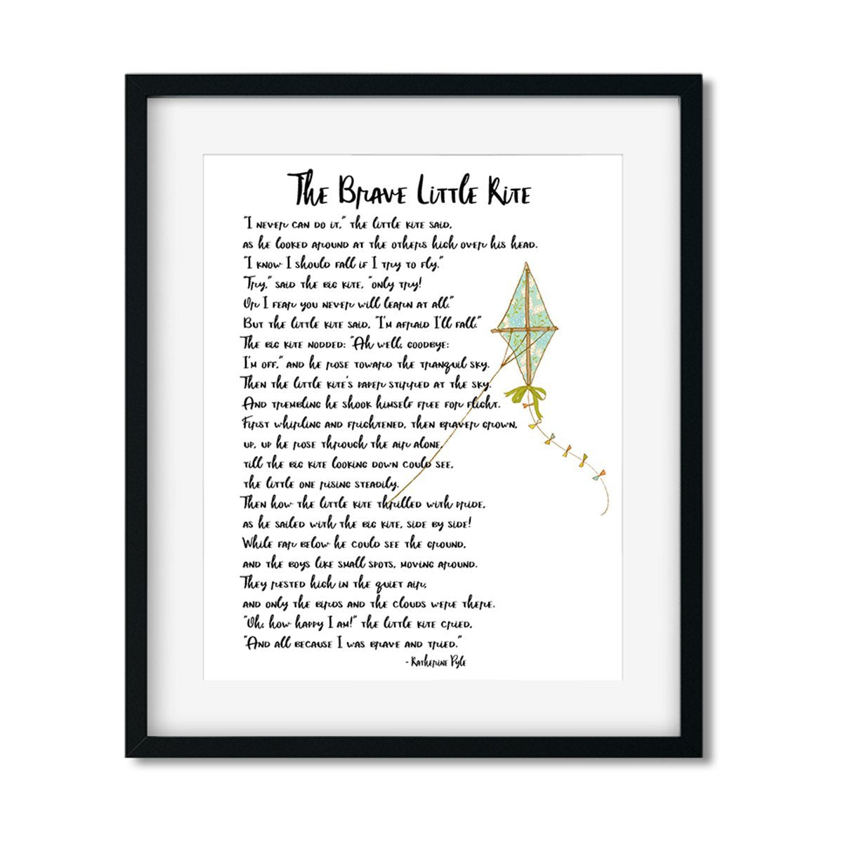 The Brave Little Kite - Art Print - Netties Expressions