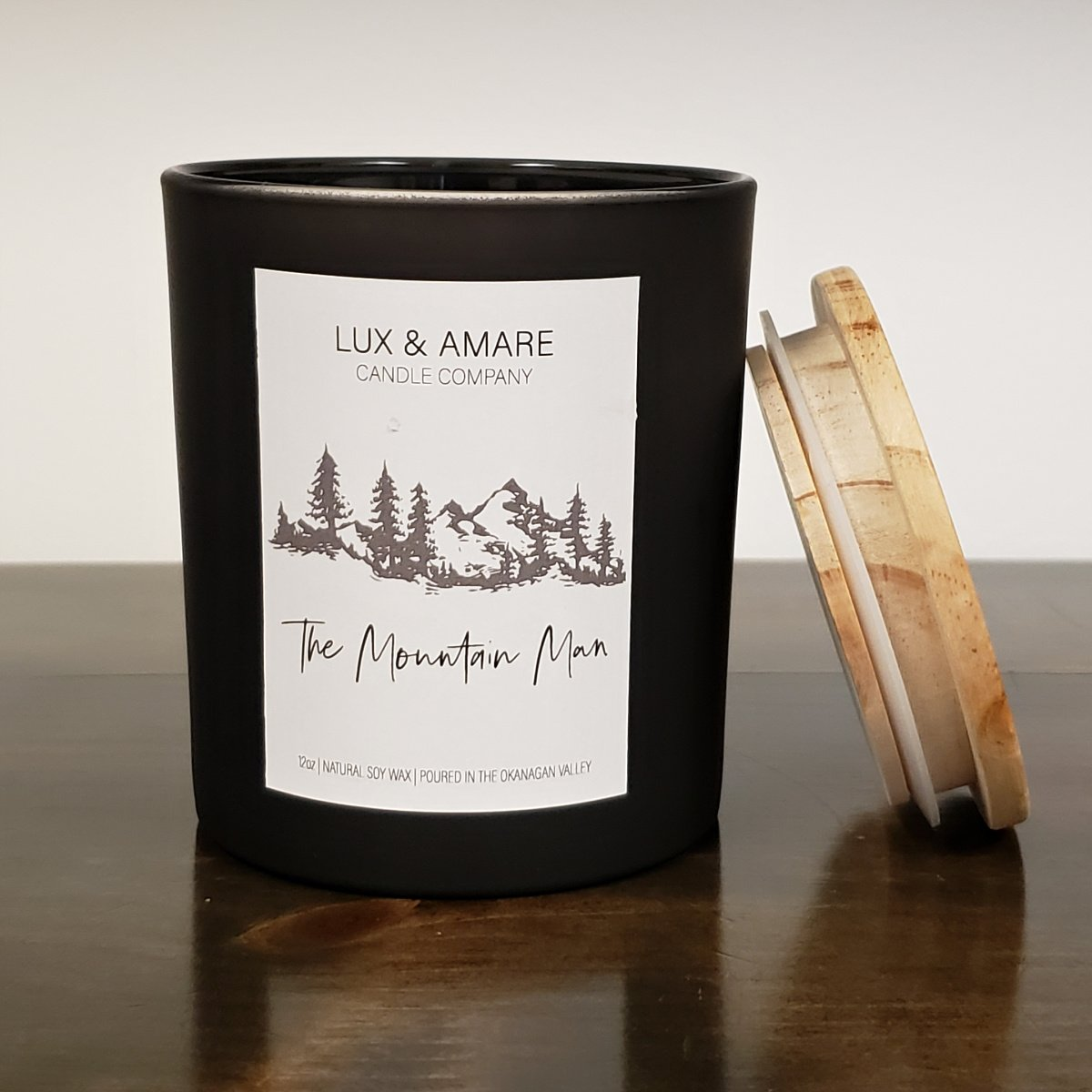The Mountain Man Lux & Amare Candle Company