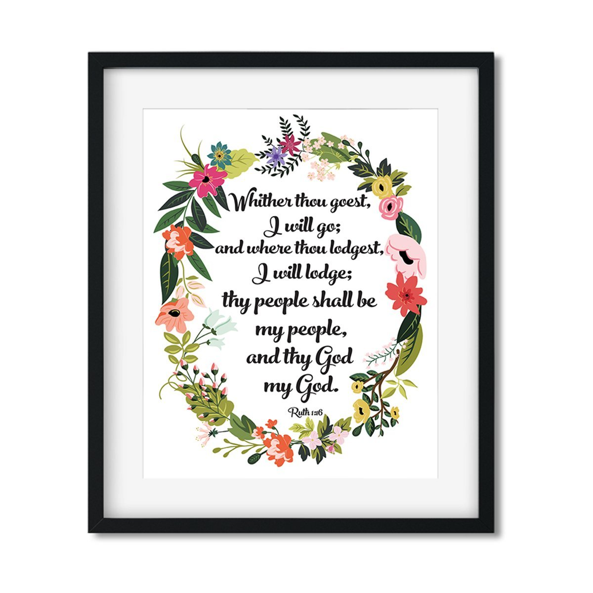 Whither thou goest I will go - Art Print - Netties Expressions