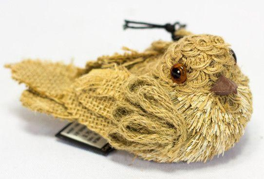 Burlap Bird - Netties Expressions