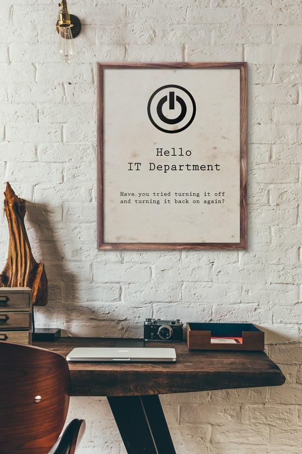 Hello IT Department - Art Print - Netties Expressions