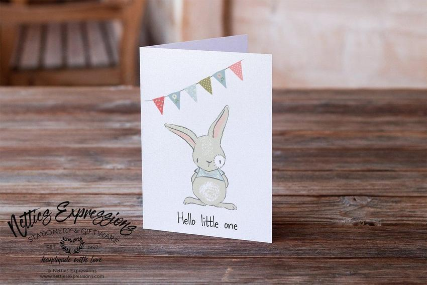 Hello Little One - Greeting Card - Netties Expressions