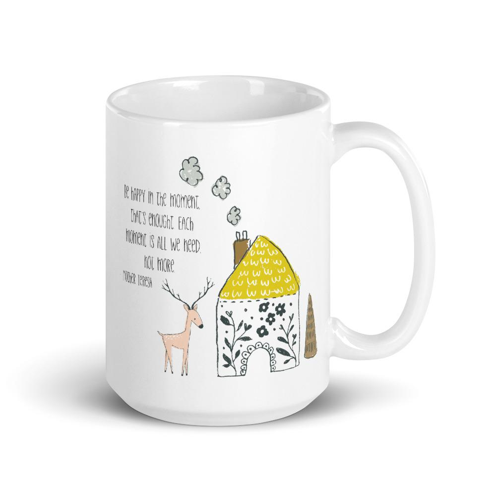 Be Happy in the Moment Mug - Netties Expressions