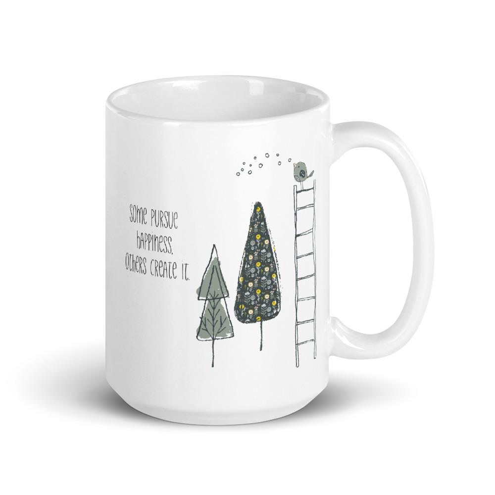 Some Pursue Happiness Mug - Netties Expressions