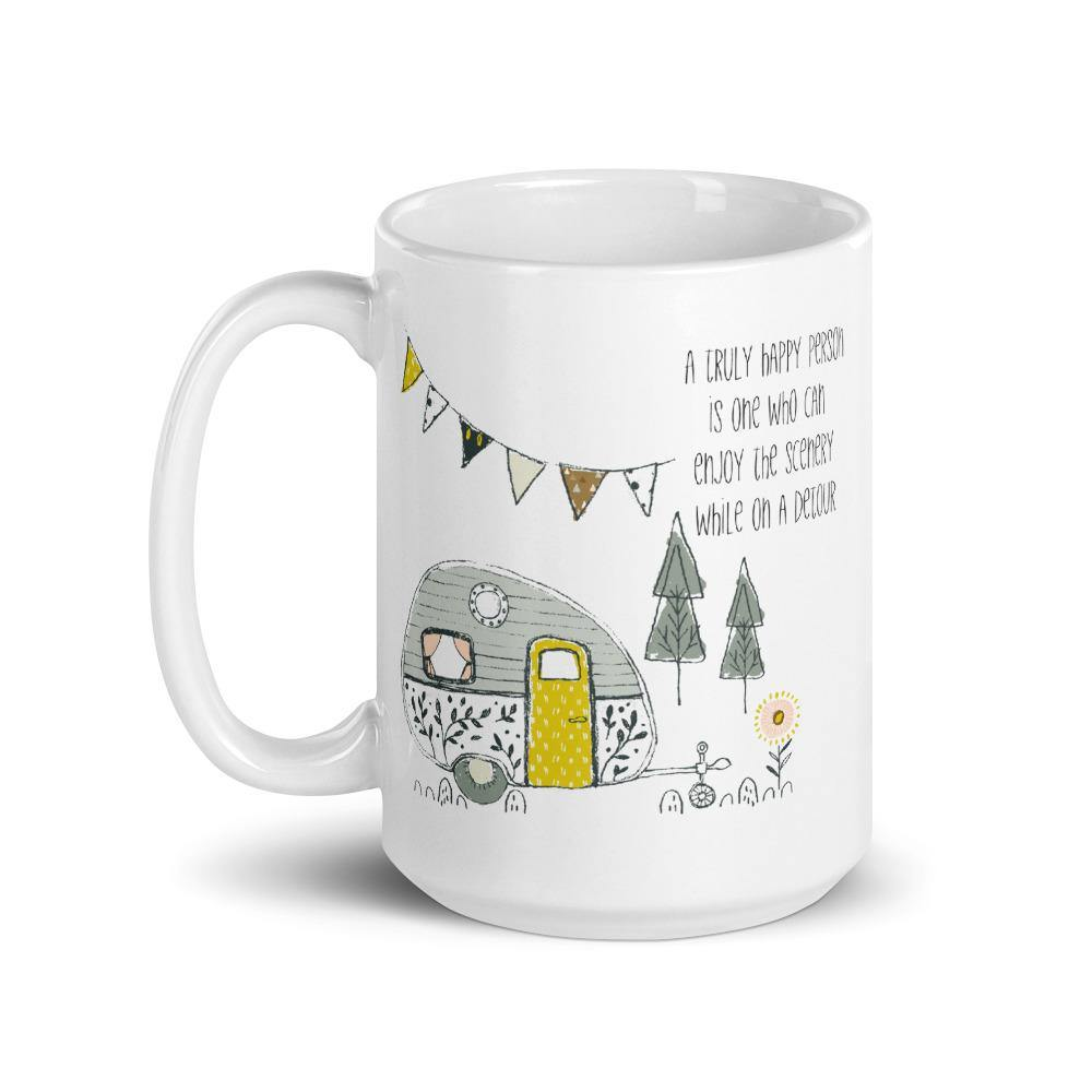 A Truly Happy Person 15oz Mug - Netties Expressions