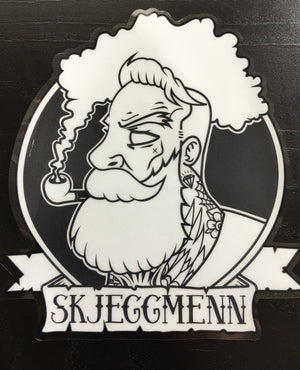 Skjeggmenn Car sticker decal