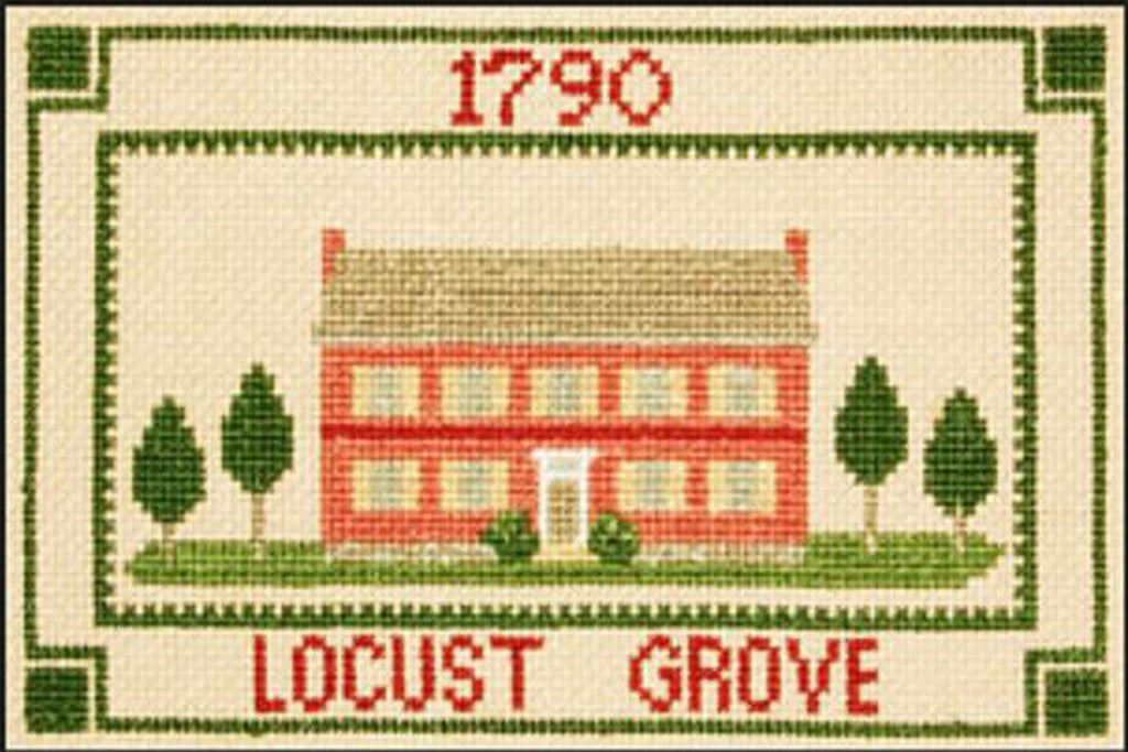 Locust Grove ABC Counted Cross Stitch Kit