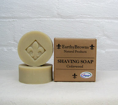 EarthyBrown Shaving Soap
