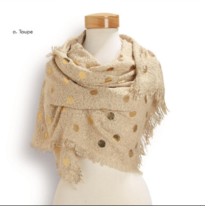 Do It In Dots Scarf
