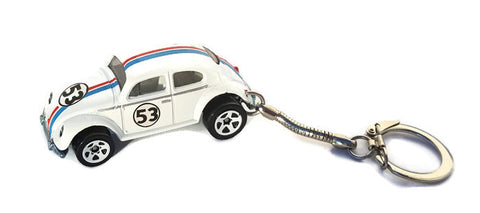 Herbie The Love Bug Volkswagen Beetle Key chain