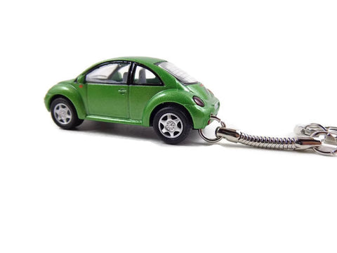 New Beetle Green key chain