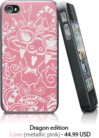 iSkin | Aura - Dragon Edition for the iPhone 4-4S