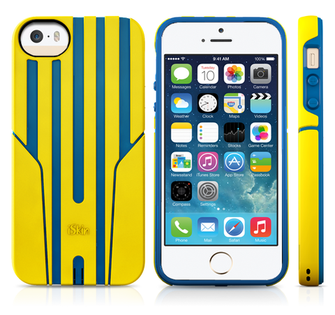 iSkin Exo (Yellow/Blue)