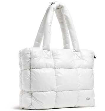 "Taylor Tote 13/15"" - Snow"