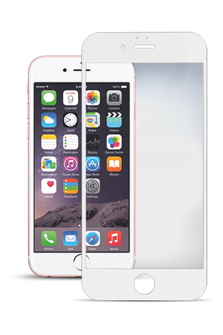 Titan Glass Shield for iPhone 6/6S Plus - White