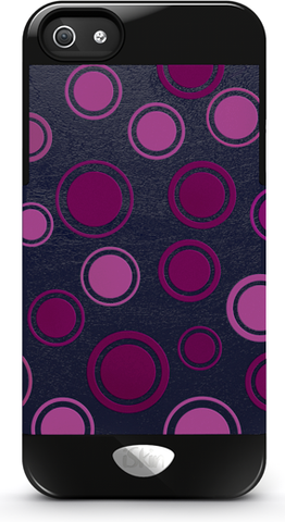 iSkin Vibes Polka Dot (Purple)