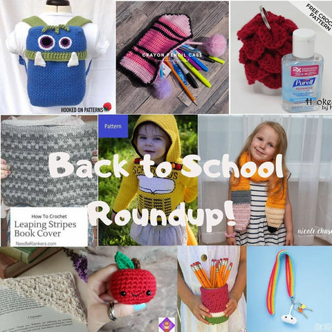 Back to School Crochet Pattern Roundup