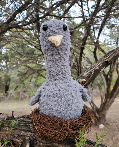 Save the Eagles Day - Baby Eagle Crochet Pattern