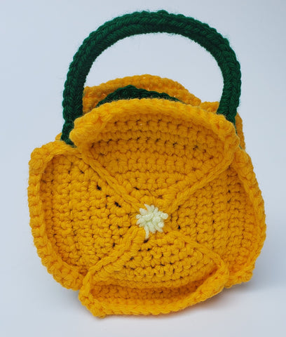 California vacation - Poppy Mini Bag crochet pattern