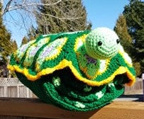 Benjamin Turtle Nap Buddy Crochet-along