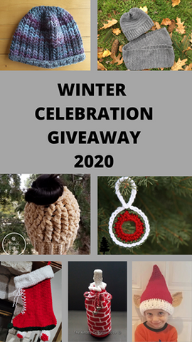 Winter Celebration 2020 Giveaway - Free Ornament Pattern