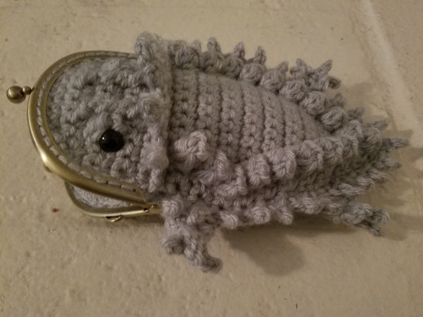 Horny Toad Coin Purse Crochet Pattern
