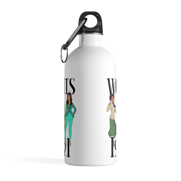 History of Women's Rights 1920 to 2021 Stainless Steel Water Bottle