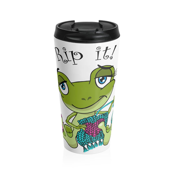 Rip It! Frog Stainless Steel Travel Mug