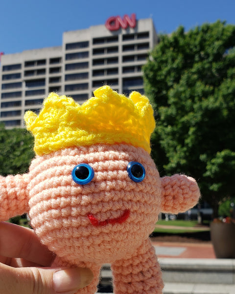 Peachy Queen Amigurumi Crochet Pattern