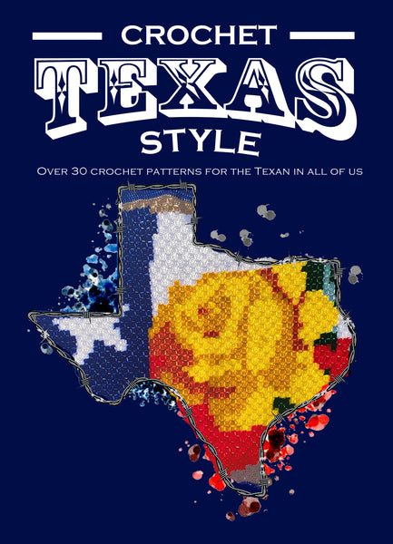 Crochet - Texas Style Crochet Patterns Paperback Book