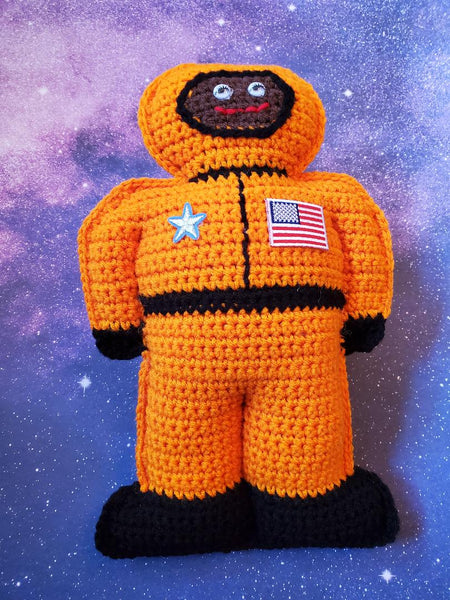 Astronaut Cuddler Crochet Pattern - Space Explorer Crochet Pattern