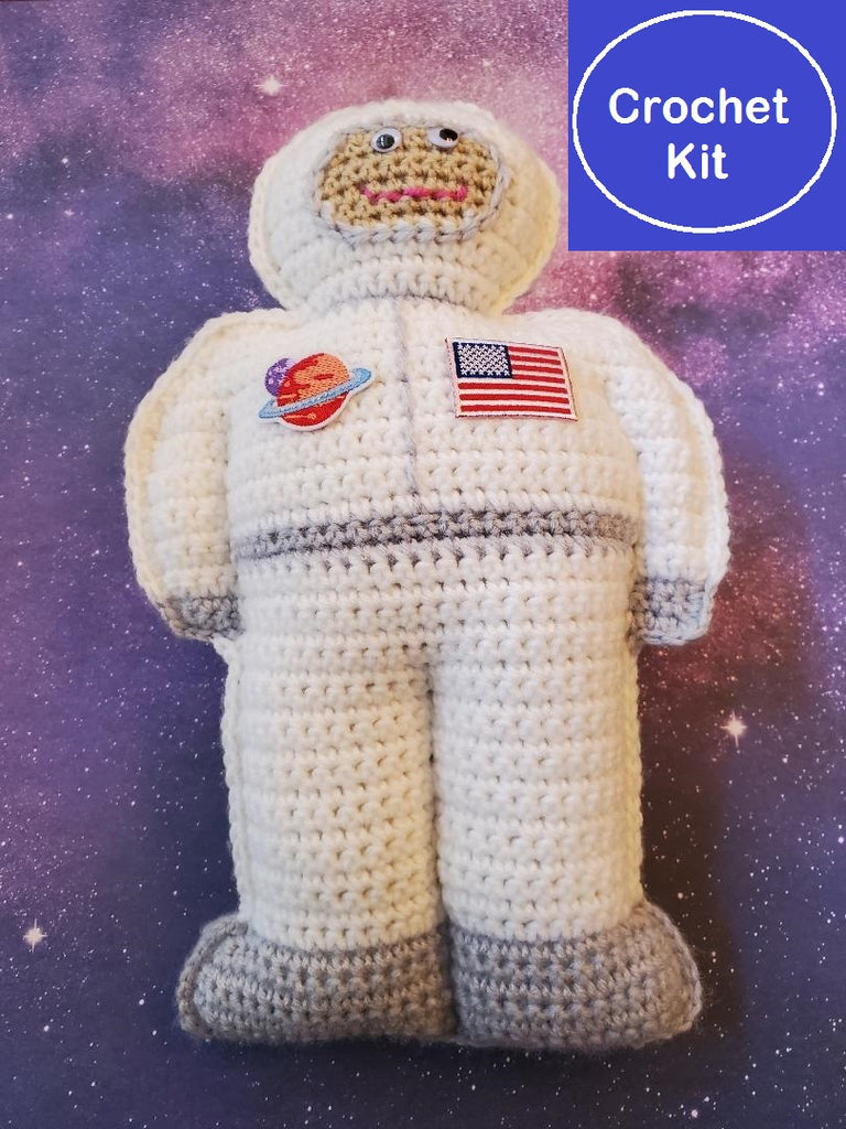 Astronaut Cuddler Crochet Kit