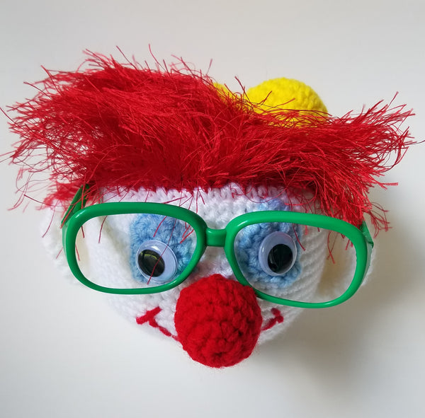 Clown Eyeglass Holder Crochet Pattern - FREE PATTERN