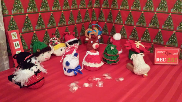 Christmas Goody Bags Crochet Kit