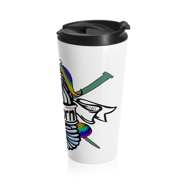 Yarnicorn Stainless Steel Travel Mug