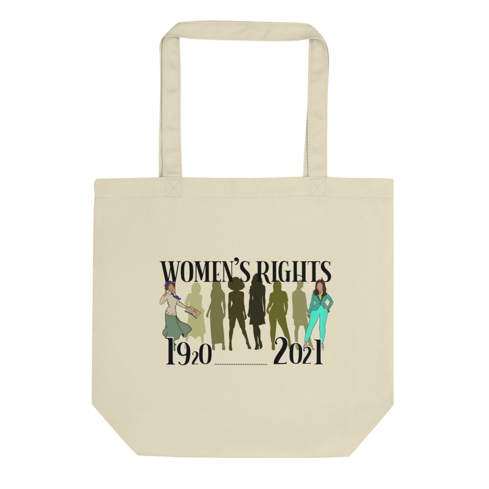 History of Women's Rights 1920 to 2021 Eco Tote Bag