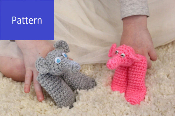Elephant Crochet Patterns Ebook - 6 Elephant Patterns