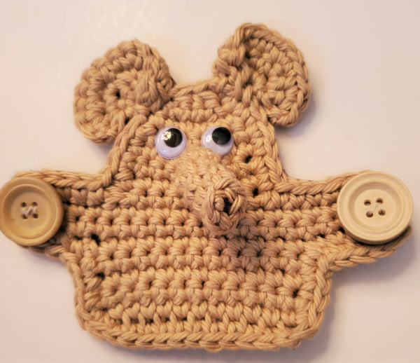 Elephant Ear Saver Crochet Pattern - Face Mask Mate