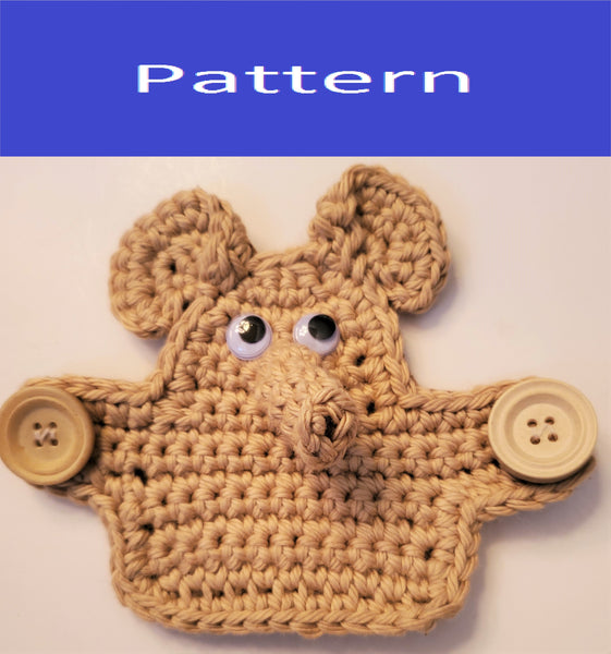 Elephant Mask Mate Crochet Pattern