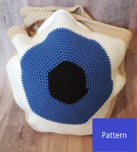 Eyeball Bowling Ball Bag Crochet Pattern