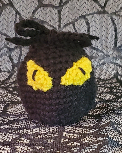 Eyeball Treat Bags Crochet Pattern for Halloween